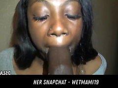 Jamaican Teen Eats Bbc Cum HER SNAPCHAT - WETMAMI19 ADD