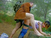 Teen Punk Fondled And Fucked In The Forest.mp4