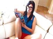 Comic book cummer Catie Minx