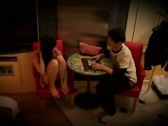 Young Wife caught cheating in hotel room