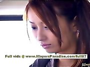 Nao Yoshizaki sexy asian teen on the bus