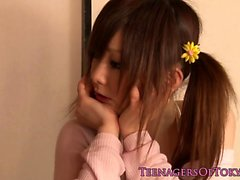 Pigtails nippon teen fucked and facialized