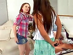 The princess persia two lesbians toying and eating the pussy a