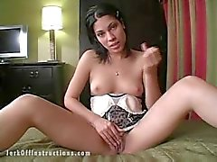 Jerk off instructions - Slutty step sisters