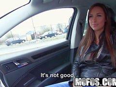 Mofos - Stranded Teens - Brunette Gets in a Strangers Car st