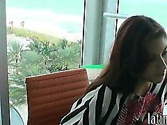 Hot ass latina girlfriend teen horny suck fuck and facial