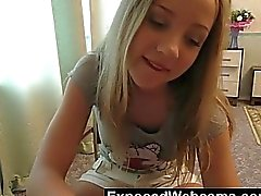 Her First Time On Webcam