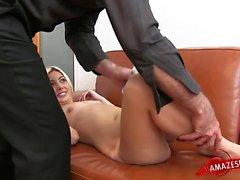 Young pornstar seduce