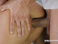 private - Petite Teen Sarah Kay Riding on a Stunt Cock