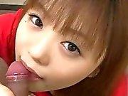 Cute Noriko Kago blows a cock