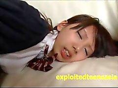 Very Cute Jav Idol Teen Schoolgirl Pussy