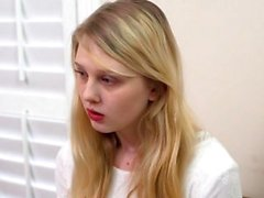 Blonde mormon teen jizzed