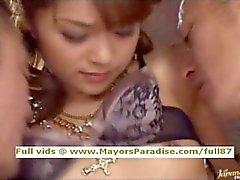 Mihiro innocent Chinese girl gets pussy fucked hard