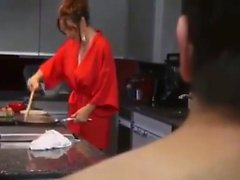 Stepmom makes breakfast for stepson - More On hdmilfcam