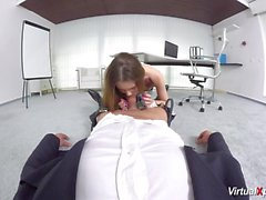 pov sex with cute schoolgirl