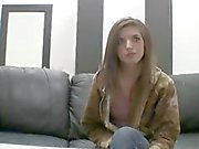 18 y.o. Tria on the Casting Couch