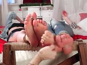 Anya and Tanya Double Super Tickling Session