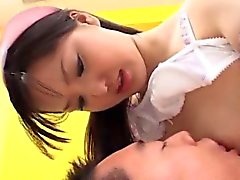 Special porn play along insolent Japanese nurse Rio