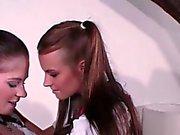 Alp lesbians play together