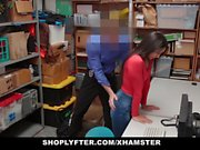 Shoplyfter - Hot Teen Caught And Fucked For Stealing On Blac