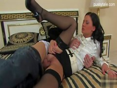 Young model penis sucking
