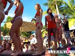 Pool Party Pussy Twerking and Fingering