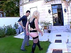 Lolly French Exhib girl has a beatiful Big ass