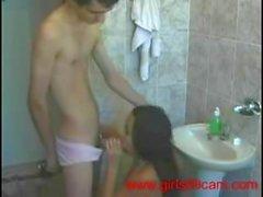 Real Homemade Amateur Young Brazilian Couple Fucking