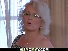 Horny lesbian mommy wants to eat her pussy