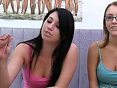 Hot lascivious sorority sisters