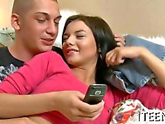 russian beauty gets her clam finger banged