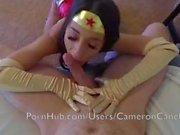 Teen Couple Makes Wonder Woman Cosplay Sex Tape