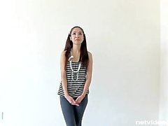 Ordinary girl. Extraordinary Audition. Netvideogirls