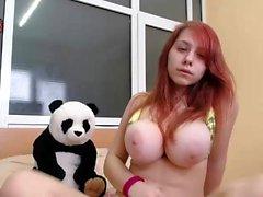 Big boobs asshole striptease