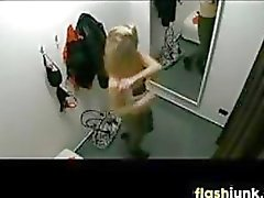 Teen Spied On In A Dressing Room