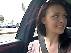 Gorgeous Belle gets fucked in the car