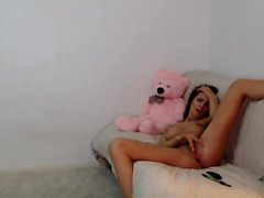 Hot Naughty Brunette Plays For You