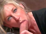 gorgeous MILF takes young cock