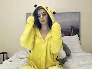 Blue Hair Emo Webcam Masturbate