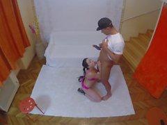 Hot and horny Taissia Shanti fucked by MugurPorn homemade privte amateur