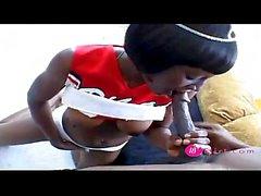 Fashion ebony teen princes likes anal and deepthroat - 18flirt
