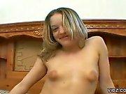 Wide mouthed slut savors her prize