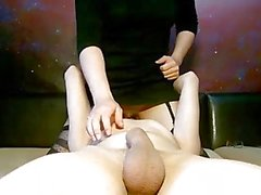 Galactic 69 pose: Blowjob and Pussy Licking.