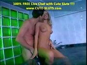 ANAL sex for a blond cutie in the jacuzzi