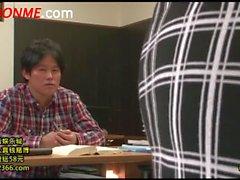 Tight Skirt Cram School Teacher Tuition Terutsuki Anri (2)