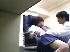 Sweet Oriental teen has a kinky doctor thoroughly examining