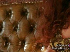 Brianna Davies - Video Lookbook 1 - Sexy brunette big natural tits