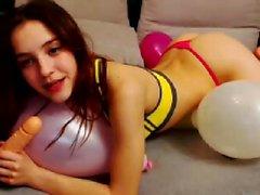 Webcam Teen Hammock Masturbation