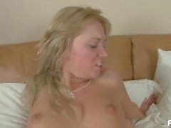 Blonde European Teen Loves Anal