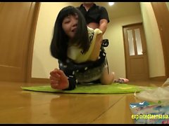 Hoshino Yuzuki Ambushed At Home Fucked